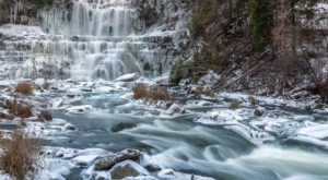 10 Hidden Frozen Waterfalls In New York That Are Still Worth Chasing In Winter