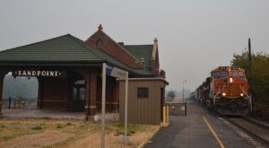 There's Only One Remaining Train Station Like This In All Of Idaho And It's Magnificent