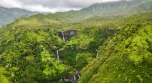 The Five Waterfalls Found In This Hawaiian Valley Top Our Travel Wish List