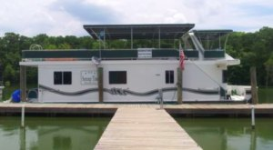 Get Away From It All With A Stay In This Incredible Louisiana Houseboat