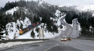 Don't Drive On The Most Dangerous Road In Northern California In The Wintertime