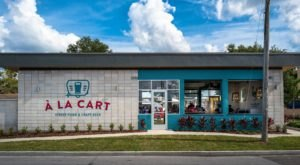 The First Permanent Food Truck Park In Florida, À La Cart, Has Over 10,000-Square Feet Of Deliciousness