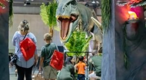 This Traveling Dinosaur Park Is Coming To Idaho And You Don't Want To Miss It