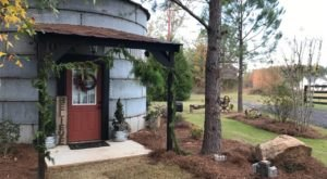 This Grain Bin Bed & Breakfast In Georgia Is The Ultimate Countryside Getaway