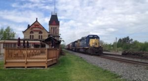 Dine Inside A 19th Century Train Depot At The Berea Union Depot Restaurant In Ohio