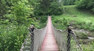6 Swinging Bridge Trails In Ohio That Offer The Perfect Amount Of Adventure
