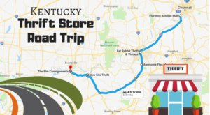 This Bargain Hunters Road Trip Will Take You To The Best Thrift Stores In Kentucky