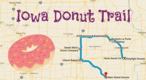 Take The Iowa Donut Trail For A Delightfully Delicious Day Trip