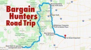This Bargain Hunters Road Trip Will Take You To The Best Thrift Stores In Colorado
