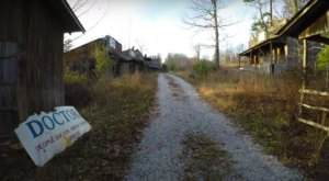 Explore An Abandoned Ghost Town Near Cumberland Falls In Kentucky