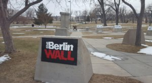 Not Many People Realize That You Can Touch A Piece Of The Berlin Wall Here In South Dakota