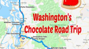 The Sweetest Road Trip in Washington Takes You To 9 Old School Chocolate Shops