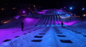 A Northern Lights Themed Tube Park, Massanutten Resort, Is A Fantastic Winter Adventure In Virginia