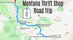 This Bargain Hunters Road Trip Will Take You To The Best Thrift Stores In Montana