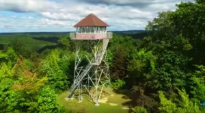Hike To This Scenic Fire Tower For Some Of The Most Unforgettable Views In Kentucky