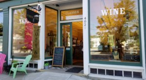 The Hours Will Slip Away From You At This Maine Yarn Store That's Also A Wine Shop