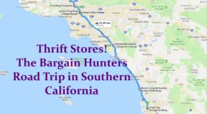 This Bargain Hunters Road Trip Will Take You To The Best Thrift Stores In Southern California