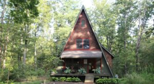 This Forest Lodge Hiding In The Virginia Woods Is A Fairytale Come To Life