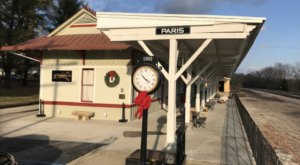 This Historic Kentucky Train Depot Is Now A Beautiful New Restaurant Right Along The Tracks