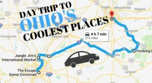 Your Whole Family Will Love This Day Trip To Some Of Ohio's Coolest Attractions