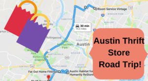 This Bargain Hunters Road Trip Will Take You To The Best Thrift Stores In Austin