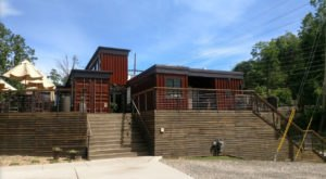 Dine In A Converted Shipping Container At This One-Of-A-Kind North Carolina Restaurant