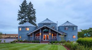 This Grain Bin Bed & Breakfast In Oregon Is The Ultimate Countryside Getaway