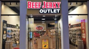 The Beef Jerky Outlet In Maryland Where You'll Find More Than 100 Tasty Varieties