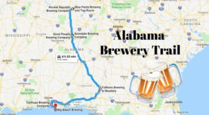 Take The Alabama Brewery Trail For A Weekend You'll Never Forget