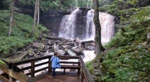 Your Kids Will Love This Easy 1.8-Mile Waterfall Hike Right Here In West Virginia