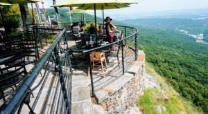 Enjoy The Best View In All Of Georgia At Cafe 7, A Unique Lookout Restaurant