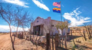 This Ghost Town Jail In Arizona Will Bring Out Your Adventurous Side