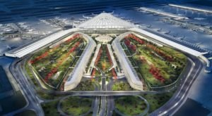 This New Design For Chicago O'Hare Airport Would Turn It Into A Futuristic City