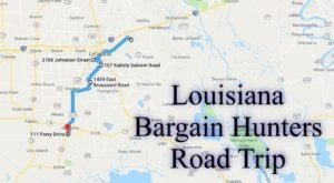 This Bargain Hunters Road Trip Will Take You To The Best Thrift Stores In Louisiana