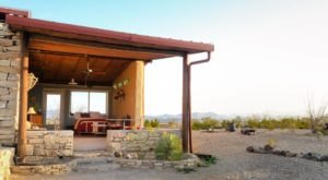 You Can Spend The Night In Mining Ruins Overlooking The West Texas Desert