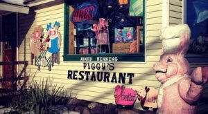 Have An Oinkin' Good Time At Piggy's Restaurant In Pennsylvania