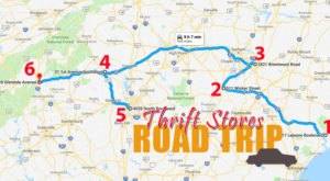 This Bargain Hunters Road Trip Will Take You To The Best Thrift Stores In North Carolina