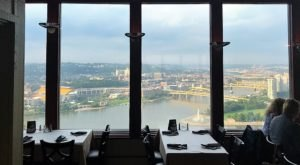 Enjoy The Best View At This Unique Lookout Restaurant In Pittsburgh