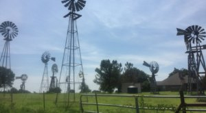 This Charming Texas Bed & Breakfast Is Surrounded By More Than 40 Windmills