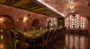 The Underground Wine Cave At Rails Steakhouse In New Jersey You'll Want To Visit