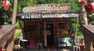 The Inconspicuous Wedding Chapel In West Virginia You Won't Find Anywhere Else In The World
