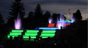 You Need To See This Dazzling Waterfall Light Show In Michigan At Least Once In Your Life
