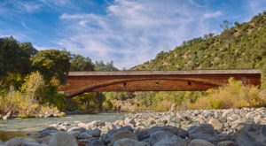 9 Undeniable Reasons To Visit The Oldest And Longest Covered Bridge In Northern California