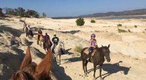 This Lakeside Horseback Trail Ride In Northern California Feels Like A Magical Secret