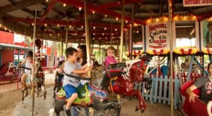 Your Kids Will Have A Blast At This Miniature Amusement Park Near Austin Made Just For Them