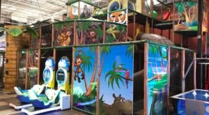 The Jungle-Themed Indoor Playground In Austin That's Insanely Fun