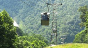 Ride A Tram To The Bottom Of The Gorge To Eat or Sleep At This West Virginia Lodge