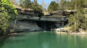 This Hidden Cove In Arkansas Used To Be Home To A Native American Healing Spring