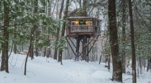 8 Treehouses Near Cleveland You Won't Believe