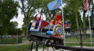 Your Kids Will Have A Blast At This Miniature Amusement Park In North Dakota Made Just For Them